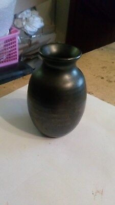3 Inches Tall Prinknash Pottery Vase Grey Studio Pottery