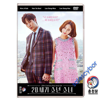 20th Century Boy and Girl~ Korean Drama (6 DVD) Excellent English & Quality.