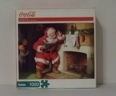 Coca Cola- A Gift for Santa 1000 piece puzzle by Buffalo games