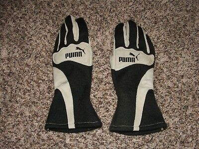 PUMA Racing NOMEX Driving Race Driver Gloves IMCA SCCA LeMons Ford Chevy BMW M3!