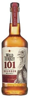 Wild Turkey 101 Proof Bourbon 700mL ea - Spirits - Origin United States