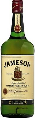 Jameson Irish Whiskey 1 Litre ea - Spirits - Origin Ireland