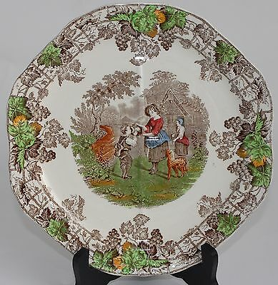 1937 Vintage Spode SPODE'S BYRON Series No 2 Divided Dish/Plate (25cm)