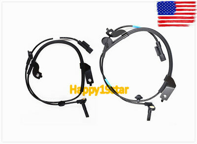Front Left + Front Right ABS Wheel Speed Sensor For Mitsubishi Lancer Outlander