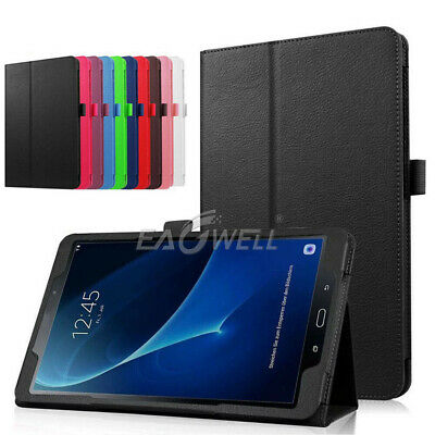 "Folio Leather Case For Samsung Galaxy Tab A A6 E S3 S2 7"" 8"" 10.1"" Tablet Cover"