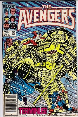 Avengers #257 GD  1st Nebula from Guardians of the Galaxy NEWSSTAND