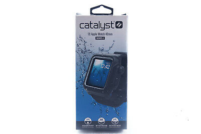 Catalyst Waterproof Case and Band for Apple Watch 42mm Series 2 - Stealth Black