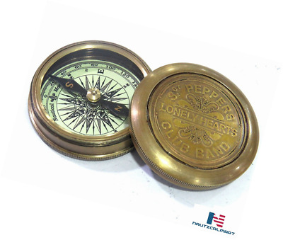 "Brass Survey Compass 2"" By Nauticalmart"