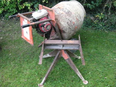 Belle Petrol Cement Mixer Honda Engine With Stand