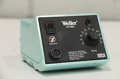 Weller EC-1002 350-850º F Soldering Power Supply Unit - EC1201A EC1302A EC1002S