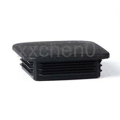 "1 Pcs 2"" Hitch Cap Tralier Hauling Towing Cover Black Rubber Square"