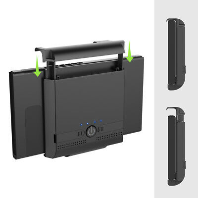 Portable Extended External Battery Charger Case Adjustable For Nintendo Switch