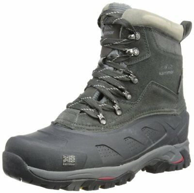 Karrimor Spike Mid II Weathertite, Scarpe da Arrampicata Uomo, Nero (Black Red), 47 EU