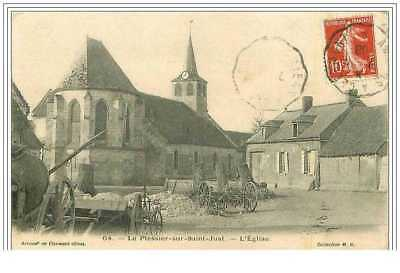60.le Plessier Sur Saint Just.l'eglise