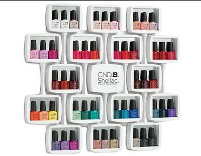 CND shellac  wall rack NEW 2017 holds 48 bottles Of Shellac Colours