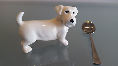 Midwinter Porcelain Terrier Dog Miniature Ornament In Perfect Condition.