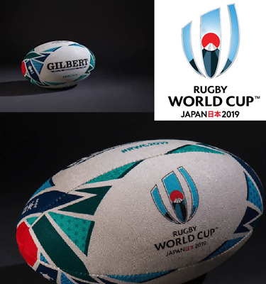 GILBERT RWC 2019 BALL Rugby World Cup Japan Replica Size 5 & Mini NEW (120312-3)