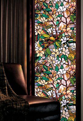 """Artscape Magnolia Window Film 24"""" x 36"""" Made in USA Expedited Fast Free Shipping"""