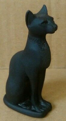Bronze Egyptian Cat Statue