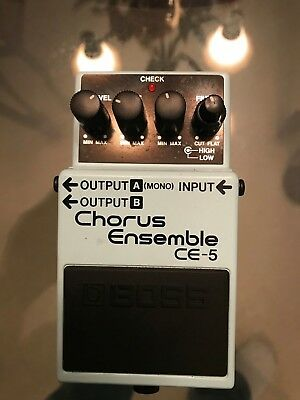 Boss CE-5 Chorus Guitar Effect Pedal