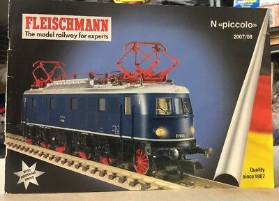 Fleischmann Model Railway for Experts 2007/08 Piccolo