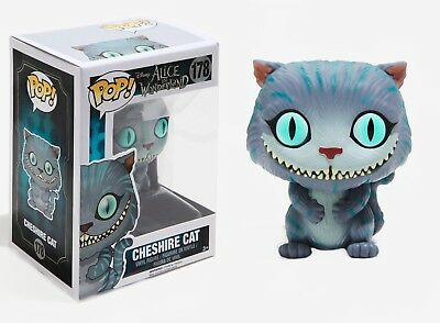 Funko Pop Disney Alice In Wonderland: Cheshire Cat Vinyl Action Figure Toy, 6711