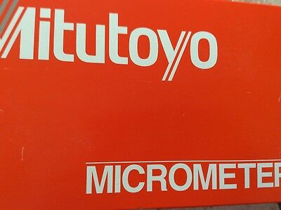 Mitutoyo 103-141-10 Outside Micrometer 100-125mm/0.01mm NEW