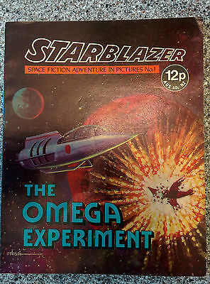Starblazer #1 (published by D.C. Thomson) dated 1979