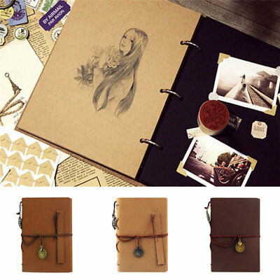 Photo Album Memory DIY Scrapbook Photograph Book Holder Camera Photos for Gifts