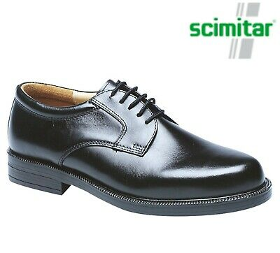 Hard Wearing, High Quality, Mens Black Leather Gibson Smart Formal Shoes sizes