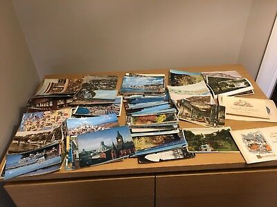 Collection Of Approx 300 Vintage Postcards, UK and Europe