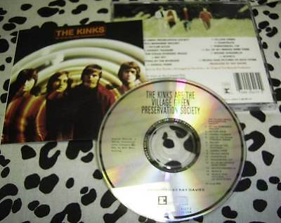 CD THE KINKS - ARE THE VILLAGE GREEN PRESERVATION SOCIETY * REPRISE '90 USA * nm