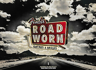 Fender Magazin - Road Worn - Guitars & Basses - Neu
