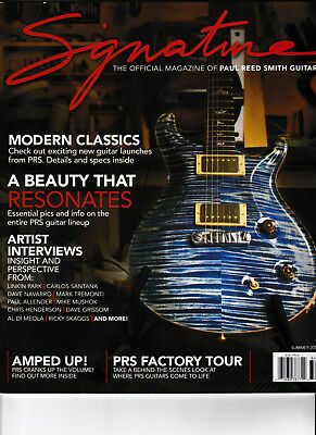 Paul Reed Smith Signature Guitar Magazine! Sommer 2008 Prs Acoustic Electric !