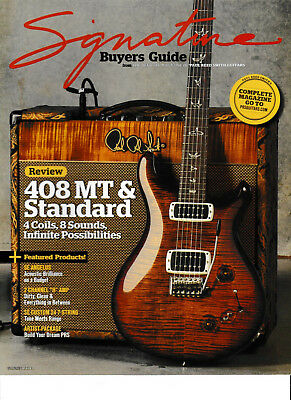 Paul Reed Smith Signature Guitar Magazine! Volume 3 Prs Acoustic Electric !