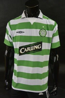 2004-2005 Umbro Celtic FC Home Football Shirt SIZE L (adults)