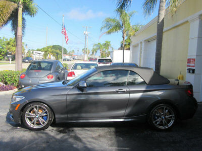 2016 BMW 2-Series M235i 6,000 MILES WATER DAMAGE SALVAGE RUNS AND DRIVES.. WOW WHAT A DEAL LIKE NEW CAR