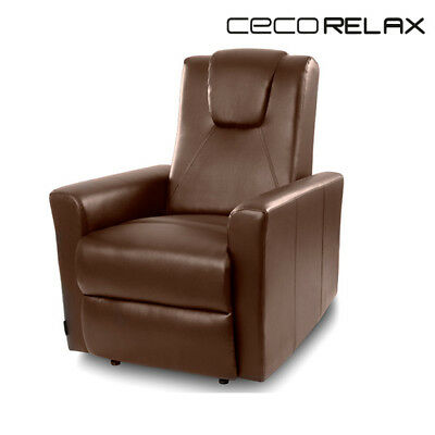 Cecorelax 6150 Brown Relax Massage Armchair