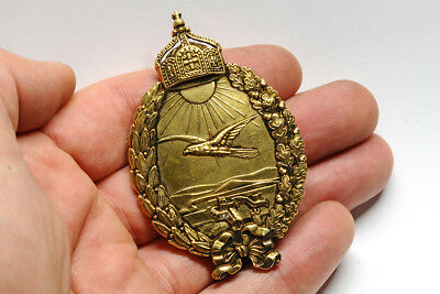 Original WW I Imperial German Badge For Navy Pilots On Land Aircrafts