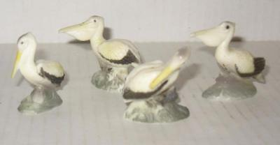 Vtg Wood Pelican on Wood Stump Piling Bark On Hand Carved Anchor Gifts Daytona