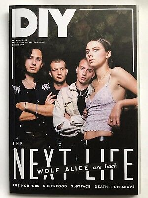 DIY music magazine WOLF ALICE September 2017 visions of a life