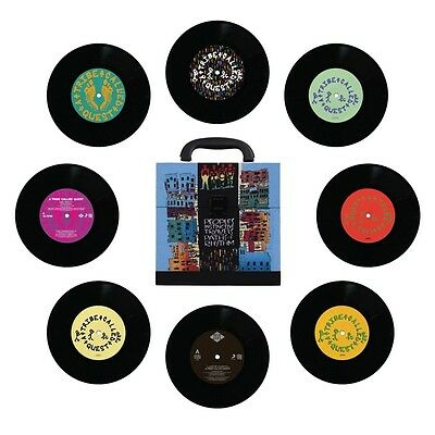 """A Tribe Called Quest Peoples Instinctive Travels 7"""" Vinyl Boxset (2ND PRESSING)"""
