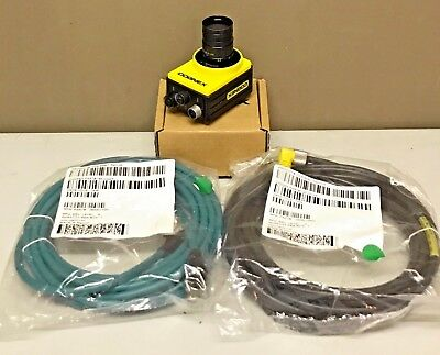 Cognex In-Sight IS7402-11 w/ PATMAX + CABLES + LENS Camera InSight 7402-11 7402