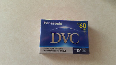 Panasonic 60/90 minute Mini DV tape - DVC