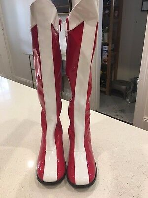Wonder Woman Boots - fabulous and never worn!