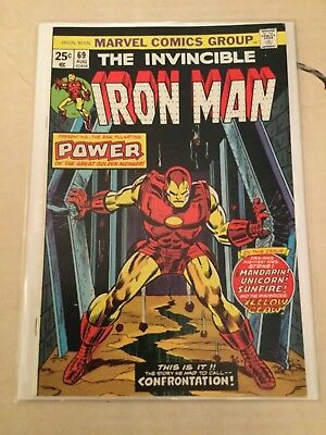 Iron Man # 69 Very Fine Plus - Classic Cover