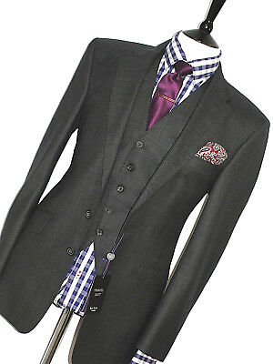 Bnwt Mens Paul Smith The British Collection Westbourne 3 Piece Suit 38R W32 L32