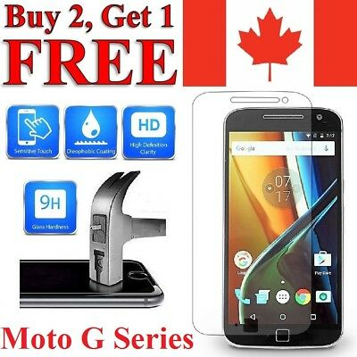 Premium Tempered Glass Screen Protector For Motorola Moto