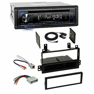 Kenwood Car Stereo Aux Bluetooth Dash Kit Harness For 2003 11