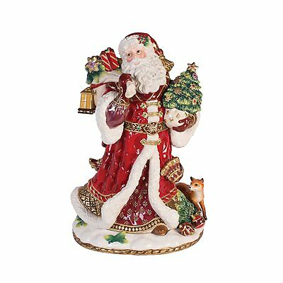 Fitz and Floyd 49-659 Renaissance Holiday, Santa Figurine